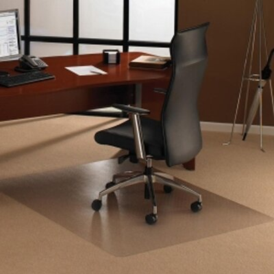 Cleartex Ultimat Polycarbonate General Office Mat for Low and Medium Pile Carpets by FLOORTEX
