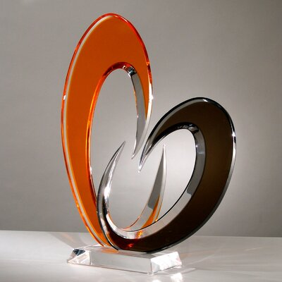 Sculptures and Art Pieces Acrylic Dione Sculpture by Shahrooz
