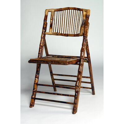 Advanced Seating Bamboo Folding Chair