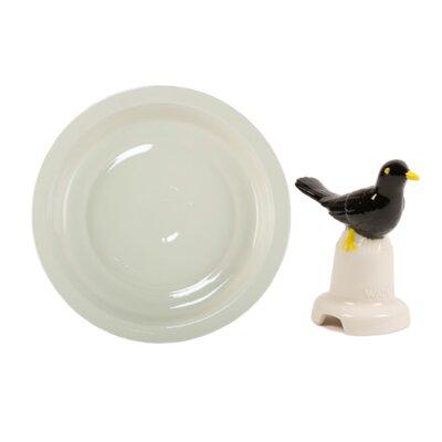 Milton Brook 2 Piece Large Pie Dish and Blackbird Pie Flute Set by Wade Ceramics ...