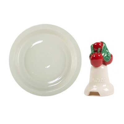 Milton Brook 2 Piece Large Pie Dish and Cherry Pie Flute Set by Wade Ceramics ...