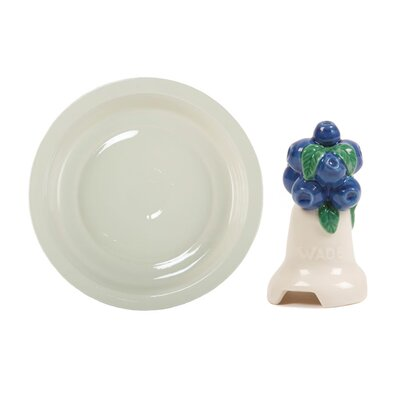 Milton Brook 2 Piece Large Pie Dish and Blueberry Pie Flute Set by Wade Ceramics ...