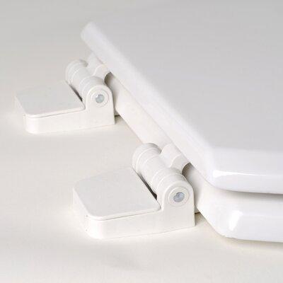 Comfort Seats Premium Molded Wood Round Toilet Seat