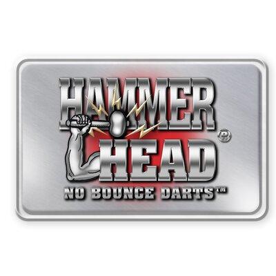 "Bottelsen Darts 0.27"" Hammer Head Original Black Steal Steel Tip Dart"