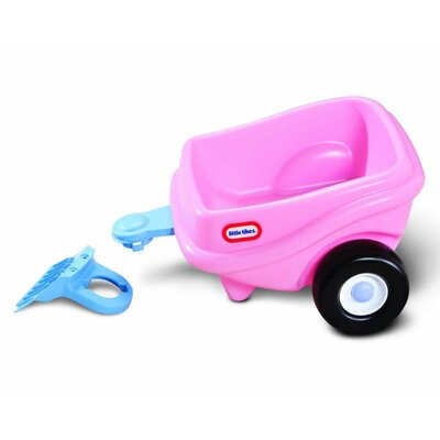 Cozy Coupe Princess Trailer Ride-On by Little Tikes