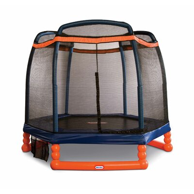 7' Trampoline with Safety Enclosure Product Photo