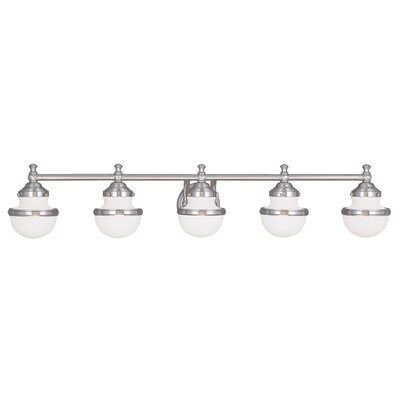 Oldwick 5 Light Vanity Light Product Photo