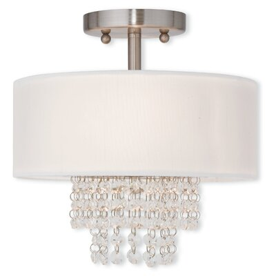 Carlisle 2 Light Semi-Flush Mount Product Photo