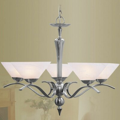 Livex Lighting Nouveau 5 Light Chandelier