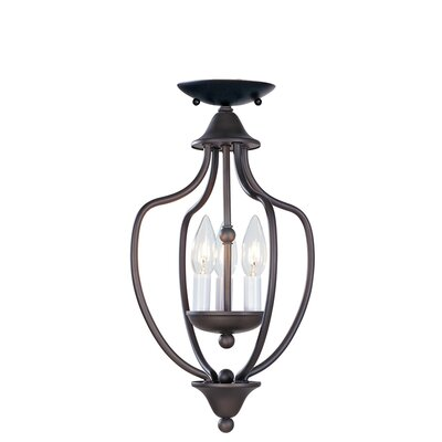 3 Light Convertible Foyer Pendant Product Photo
