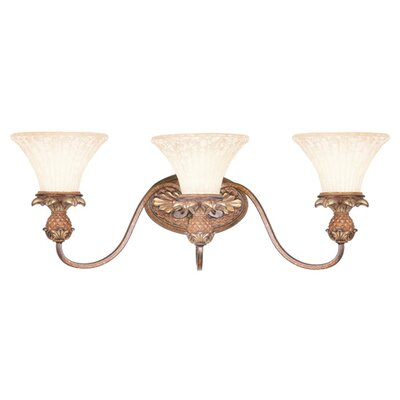 Livex Lighting Savannah 3 Light Vanity Light