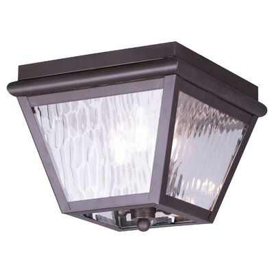 Livex Lighting Cambridge 3 Light Flush Mount