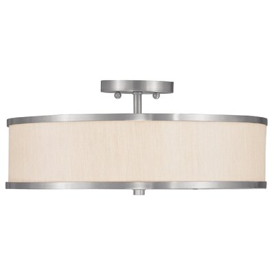 Park Ridge 3 Light Semi Flush Mount Product Photo