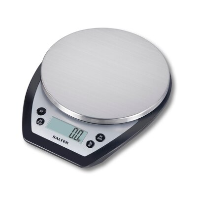Salter Stainless Steel Aquatronic Kitchen Scale by Taylor