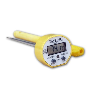Taylor Five Star Commercial Instant Read Pocket Thermometer
