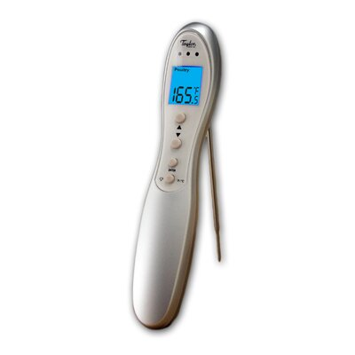 Connoisseur Digital Cooking Thermometer with Folding Probe by Taylor