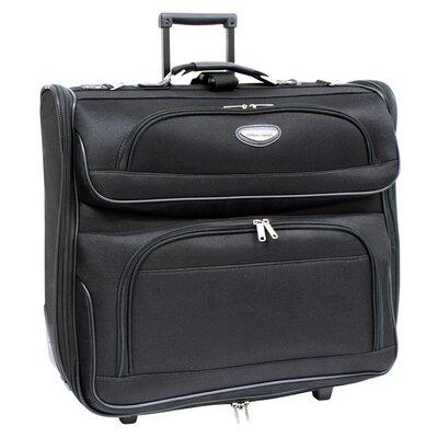 "Traveler's Choice Amsterdam 2 Tone 22"" Rolling Garment Bag"
