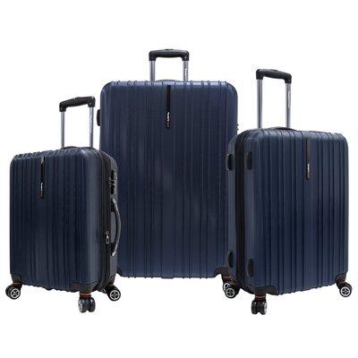 Tasmania 3 Piece Luggage Set by Traveler's Choice