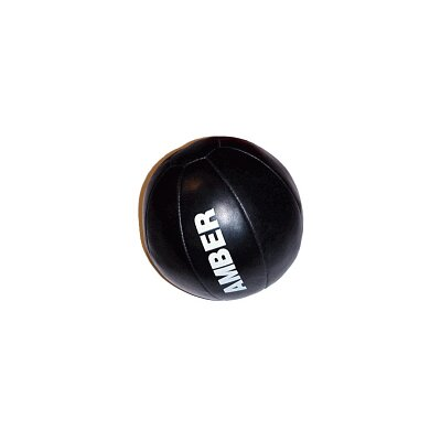 Amber Sporting Goods Leather Medicine Ball