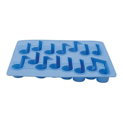 Kikkerland Musical Notes Ice Tray Summer in the City