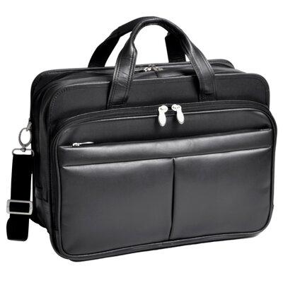 R Series Damen Leather Laptop Briefcase by McKlein USA