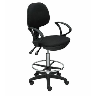 Height Adjustable Drafting Seating with Footring by Martin Universal Design