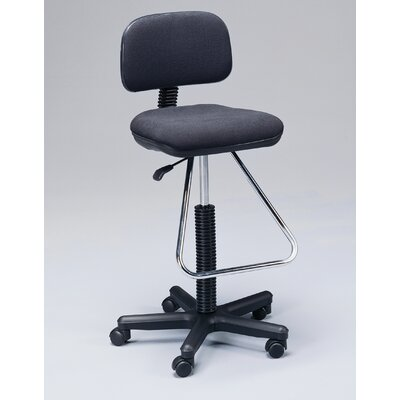 Height Adjustable Drafting Seating with Low Back by Martin Universal Design
