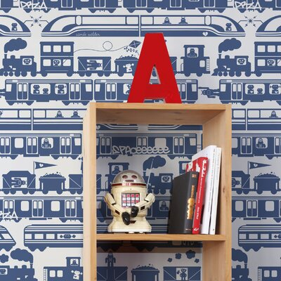 Aimee Wilder Designs Journey 15' x 27'' Robo Rail Wallpaper