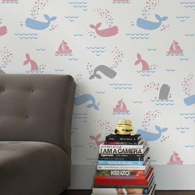 Aimee Wilder Designs 15' x 28'' Whalentine Wallpaper