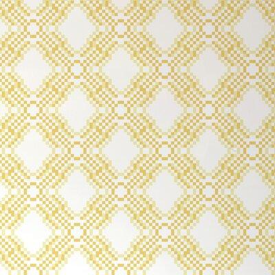 "Aimee Wilder Designs Diorama 15' x 28"" Geometric Pixel Wallpaper"
