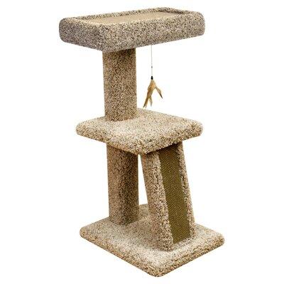 "Ware Manufacturing 42"" Corrugated Cardboard Kitty Cat Perch"