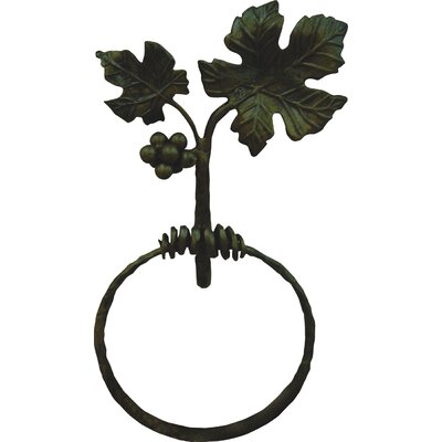 Quiescence Vineyard Wall Mounted Towel Ring