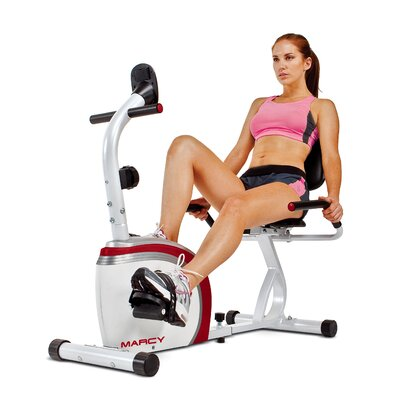 Magnetic Recumbent Bike by Marcy