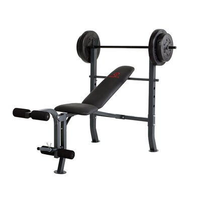 Bench with 80 lb. Weight Set by Marcy