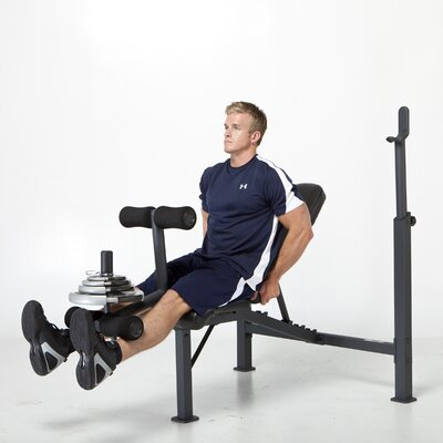 Weight Adjustable Olympic Bench by Competitor