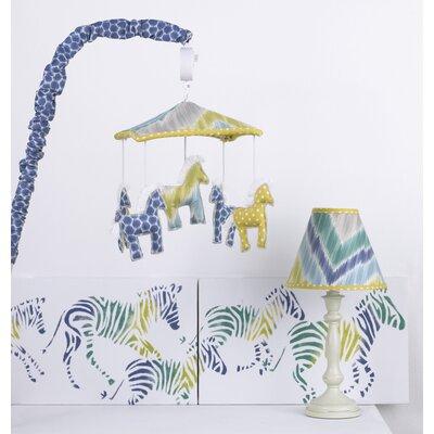 Zebra Romp Decor Kit by Cotton Tale