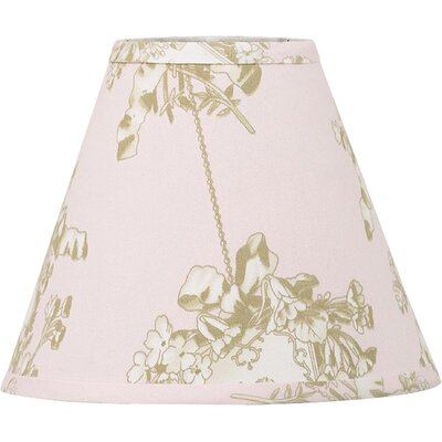 """Cotton Tale 9"""" Lollipops and Roses Cotton Empire Lamp Shade"""