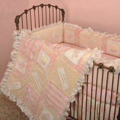 Heaven Sent Girl 4 Piece Crib Bedding Set by Cotton Tale