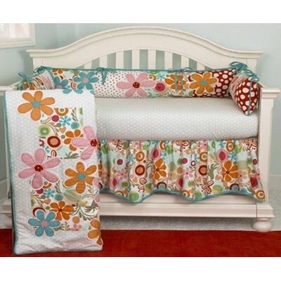 Lizzie 4 Piece Crib Bedding Set by Cotton Tale