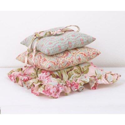 Tea Party 3 Piece Cotton Throw Pillow Set by Cotton Tale