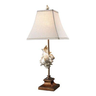 """Dimond Lighting Delray 30"""" H Table Lamp with Empire Shade"""