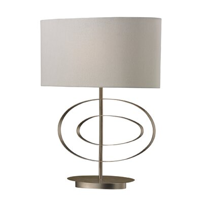 """Dimond Lighting Carson 21"""" H Table Lamp with Drum Shade"""