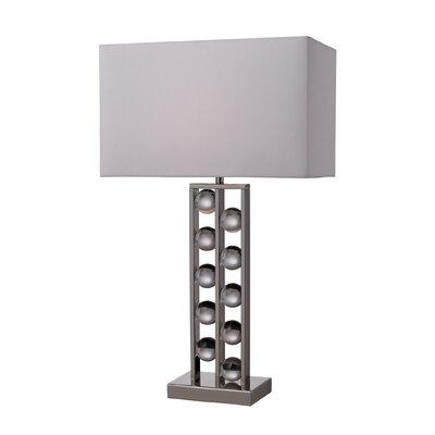 "Dimond Lighting Fort Sumner 28"" H Table Lamp with Rectangular Shade"