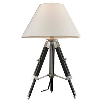 "Dimond Lighting Studio 18"" H Table Lamp with Empire Shade"