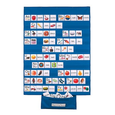 Standard-Size Wall Pocket Chart by Patch Products