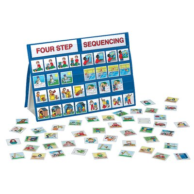 4 Step Sequencing Tabletop Pocket Chart by Patch Products