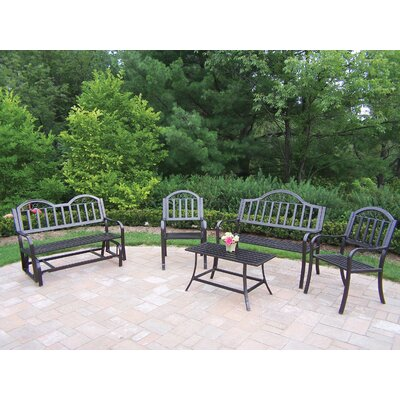 Rochester 5 Piece Lounge Seating Group Set by Oakland Living
