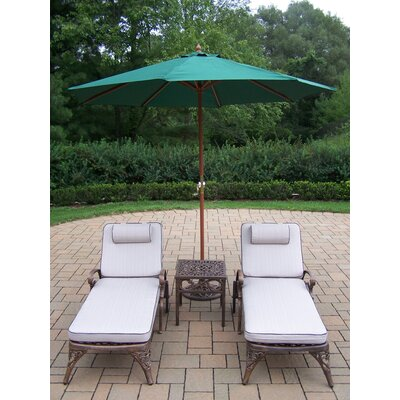 Mississippi 5 Piece Lounge Seating Group Set by Oakland Living