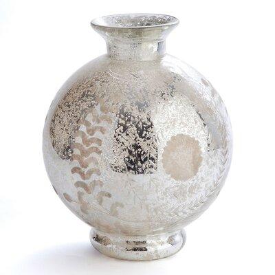Hayworth Medallion Etched Vase by Napa Home & Garden