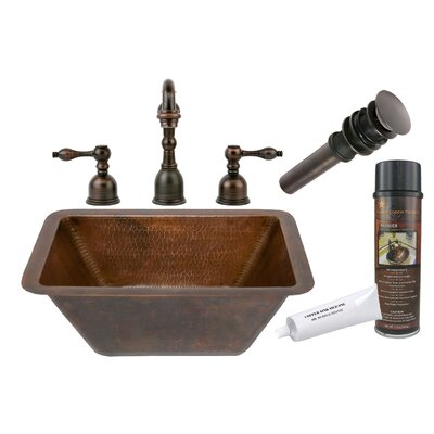 Hammered Bathroom Sink by Premier Copper Products